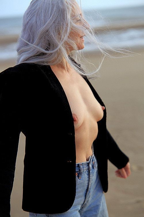 Join. Beautiful gray hair milf you