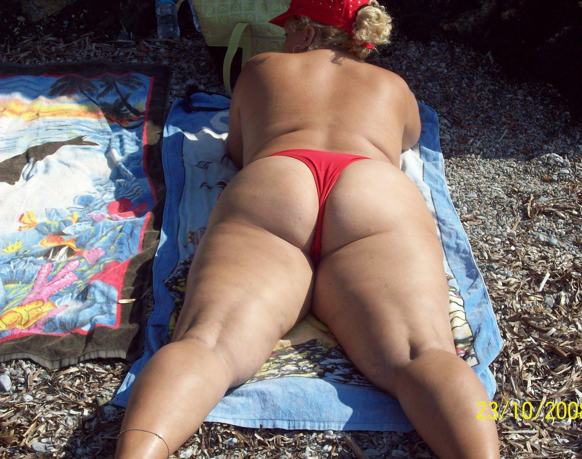 Gallery Granny Sunbathing